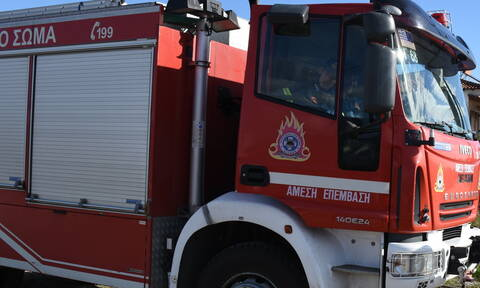 Κεφαλονιά: Υπό έλεγχο η φωτιά στα Προκοπάτα