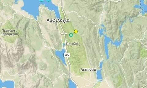 Ισχυρός σεισμός 4,7 Ρίχτερ στην Αιτωλοακαρνανία: «Ταρακουνήθηκε» η Αμφιλοχία