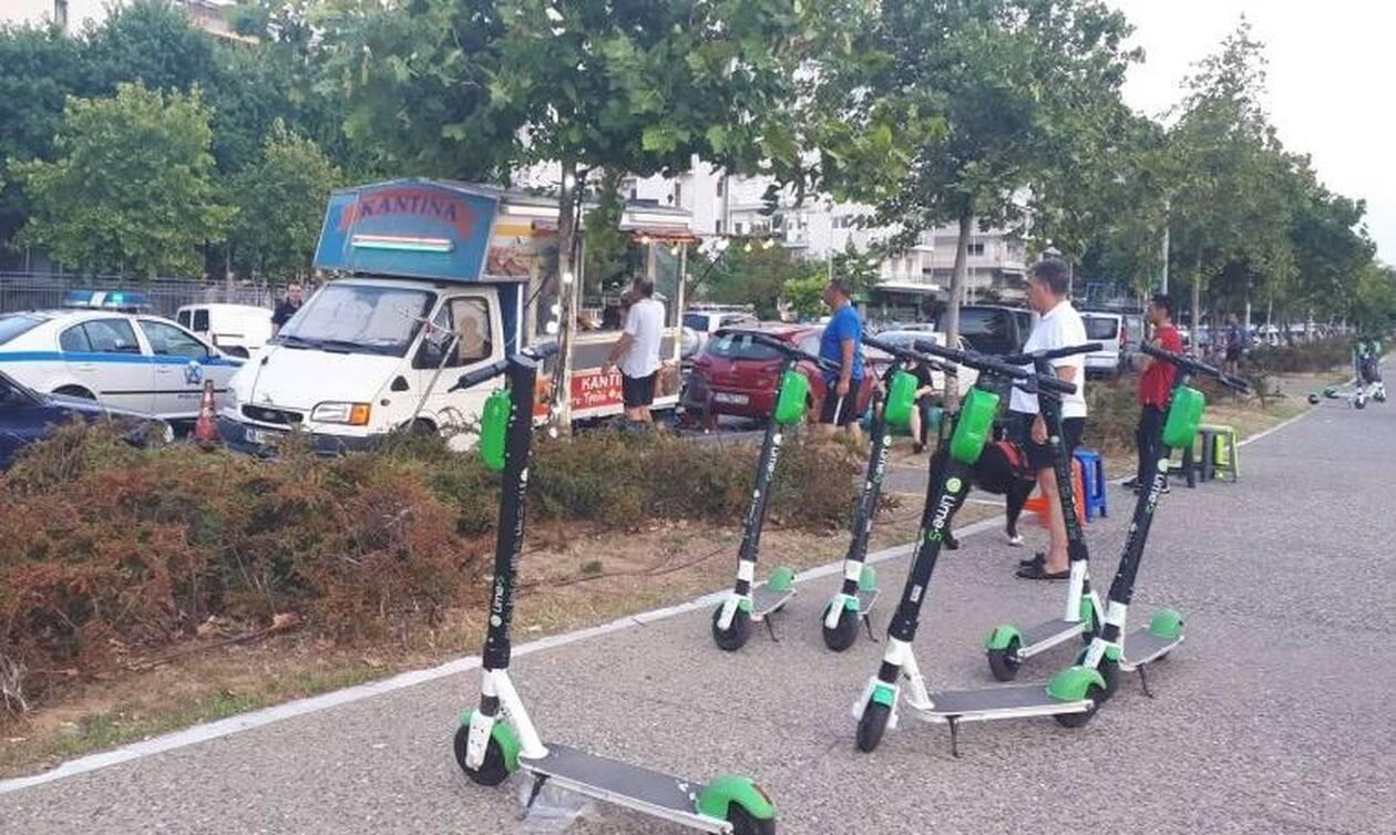 Θεσσαλονίκη: Ηλεκτρικό πατίνι παρέσυρε κοριτσάκι στη Νέα Παραλία