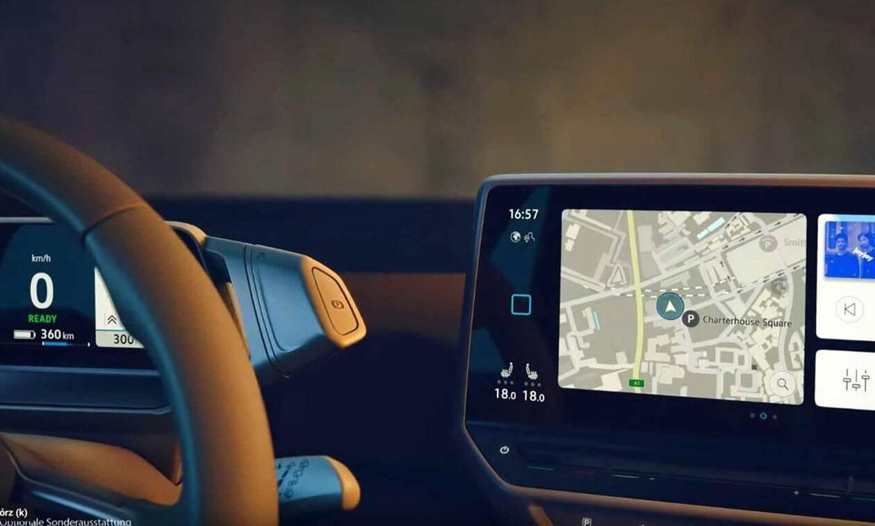 Ηλεκτρικό VW ID.3: Οι πρώτες εικόνες από το εσωτερικό του