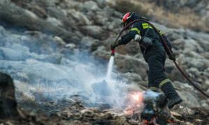 Φωτιά στην περιοχή Λενταριανά στα Χανιά – Κάηκαν δύο αυτοκίνητα
