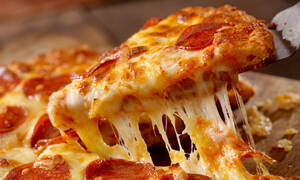 To μάθαμε και αυτό: Για αυτό η πίτσα είναι στρογγυλή!