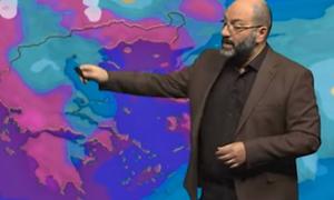 Καιρός: Ερχεται πολύ νερό! Ο χάρτης και η νέα έκτακτη προειδοποίηση του Σάκη Αρναούτογλου (photo)