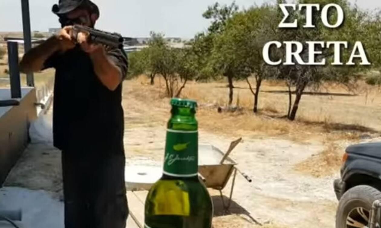 Επικό! Έτσι γίνεται το Bottle Cap Challenge στην Κρήτη! (vid)