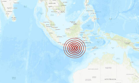 Ινδονησία: Ισχυρός σεισμός κοντά στο Μπαλί