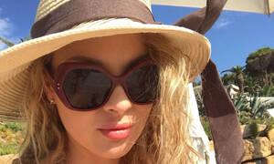 Χριστίνα Αλούπη: Μας δείχνει τις καταστροφές έξω από το εξοχικό της στη Χαλκιδική (pics)