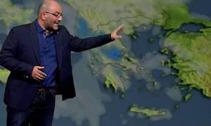 Καιρός: Προσοχή! Έκτακτη προειδοποίηση από τον Σάκη Αρναούτογλου για τις επόμενες ώρες (video)