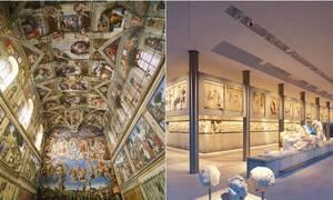 Τι κοινό έχει η Καπέλα Σιξτίνα στο Βατικανό με το Μουσείο της Ακρόπολης;