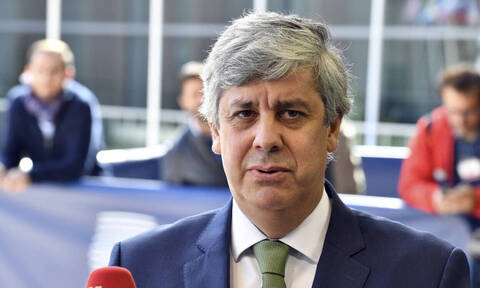 'I had a good and open conversation with FinMin Staikouras,' Eurogroup chief Centeno says