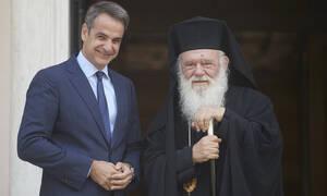 Με τον Ιερώνυμο συναντήθηκε ο πρωθυπουργός: Επανεκκίνηση στις σχέσεις Πολιτείας - Εκκλησίας