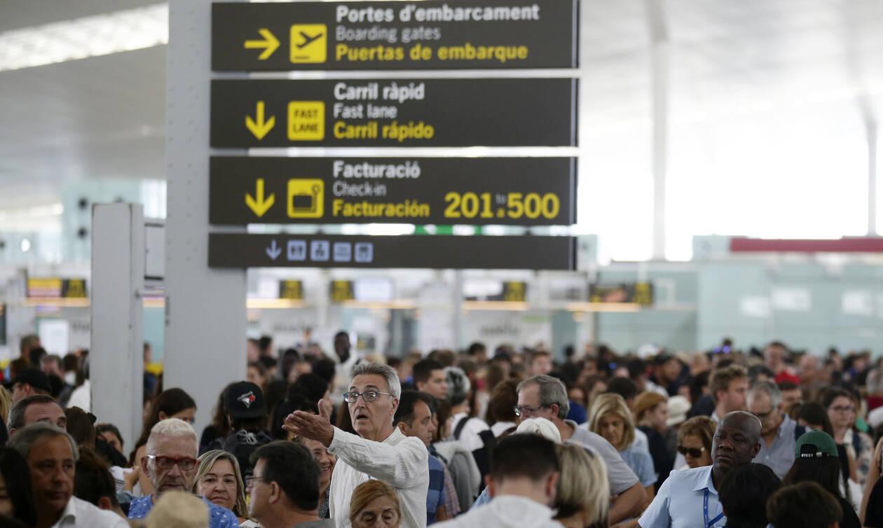 Απίστευτες σκηνές σε αεροδρόμιο - Δείτε τι συνέβη