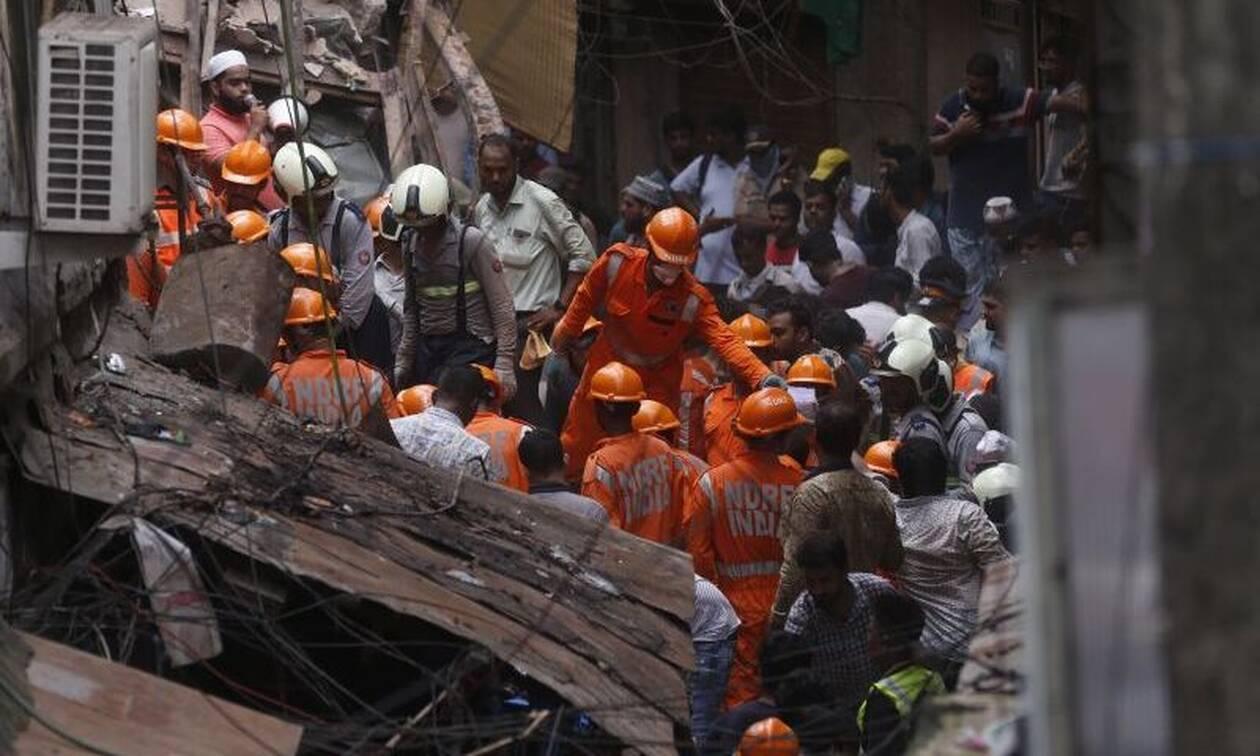 Ινδία-κατάρρευση κτιρίου: Τέσσερις νεκροί, επτά τραυματίες, πάνω από 40 αγνοούμενοι