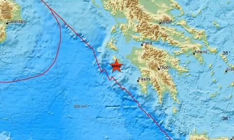 Σεισμός κοντά στη Ζάκυνθο (pics)