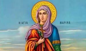 Αγία Μαρίνα: Η προστάτιδα των άρρωστων παιδιών