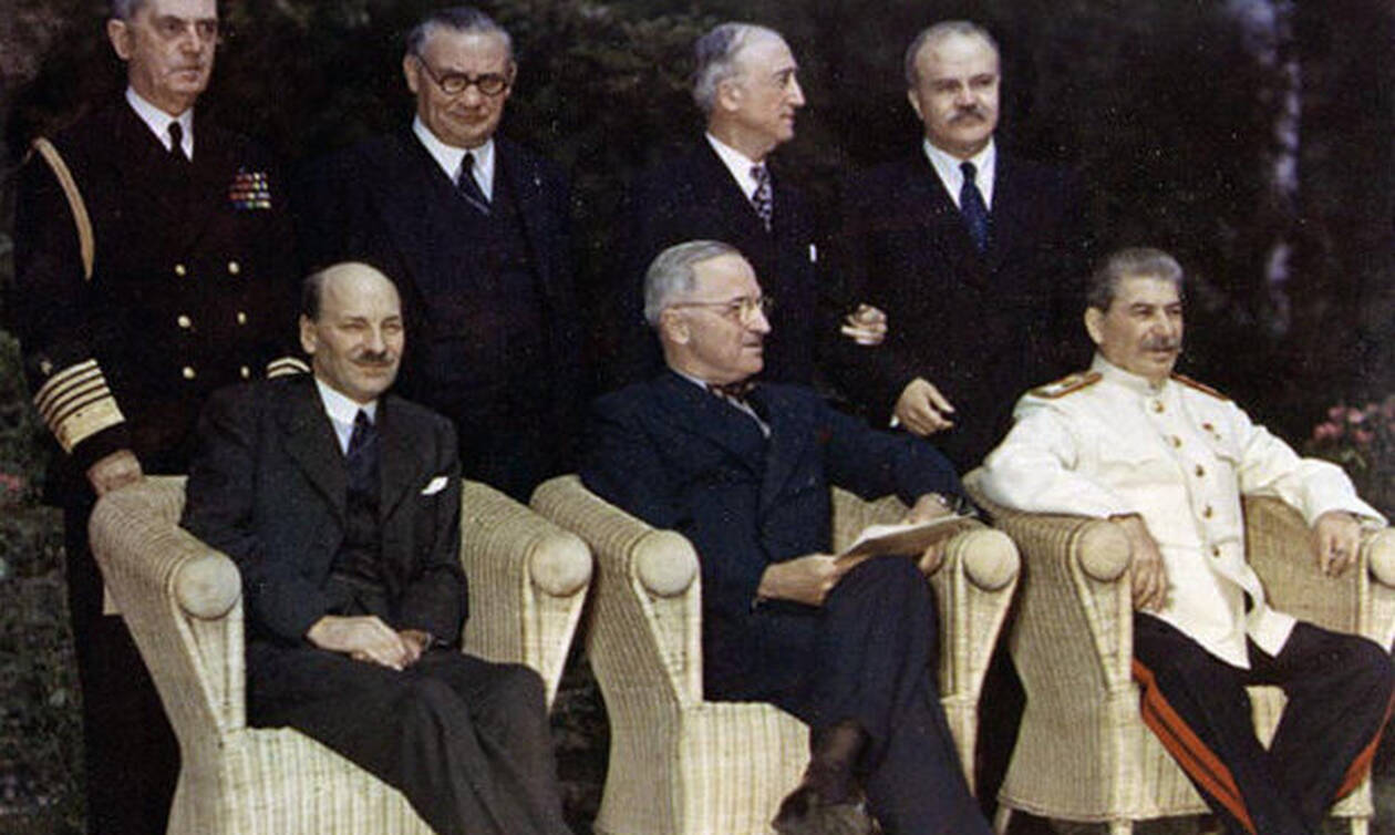 Η Συνδιάσκεψη του Πότσνταμ: Πώς χωρίστηκε ο πλανήτης από τους νικητές του Β' Παγκοσμίου Πολέμου