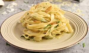 Απολαυστικές ταλιατέλες aglio e olio