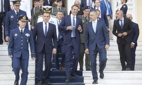 Μητσοτάκης: Σε απόλυτη επιχειρησιακή ετοιμότητα οι ένοπλες δυνάμεις