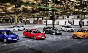 Τα σπορ Audi με τον κωδικό RS συμπλήρωσαν 25 χρόνια