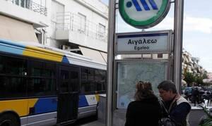 Συναγερμός: Τηλεφώνημα για βόμβα στο Μετρό του Αιγάλεω