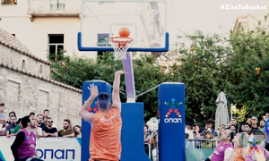 «Midnight 3on3 Streetball» από ΟΣΕΚΑ και ΟΠΑΠ στο Μοναστηράκι - Το μπάσκετ με αμαξίδιο πάει παντού