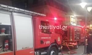 Θεσσαλονίκη: Φωτιά σε διαμέρισμα στην Καλαμαριά - Απεγκλωβίστηκε ηλικιωμένη (pics)