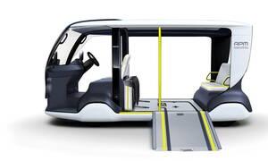 To Toyota APM έχει εξελιχθεί ειδικά για τους Ολυμπιακούς και Παραολυμπιακούς Αγώνες του Τόκιο