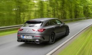 Σούπερ γρήγορες μεταφορές: Mercedes-AMG CLA 45 Shooting Brake με έως και 421 ίππους