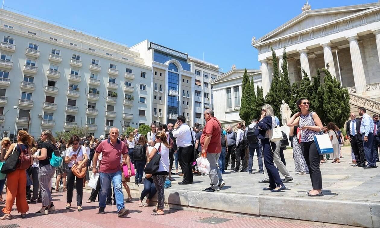 Σεισμός Αθήνα: Εκκενώνονται όλα τα δημόσια κτήρια και τα εμπορικά κέντρα