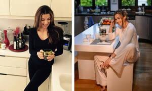 Διάσημες Ελληνίδες μανούλες μας δείχνουν τις κουζίνες τους (pics)