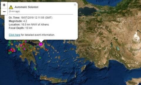 Σεισμός ΤΩΡΑ- Ισχυρός μετασεισμός στην Αθήνα