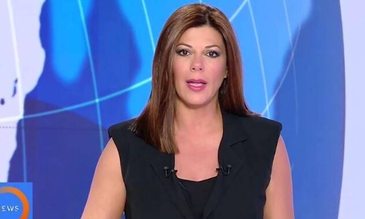Σεισμός Αθήνα: Η αντίδραση της Δρούγκα όταν αντιλήφθηκε ότι γίνεται σεισμός την ώρα του δελτίου