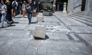 Σεισμός ΤΩΡΑ: Ζημιές σε δύο ναούς στο κέντρο της Αθήνας – Κατέρρευσε ο σταυρός