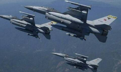 Νέα πρόκληση από την Τουρκία: F-16 στους εορτασμούς στα κατεχόμενα για την εισβολή στην Κύπρο