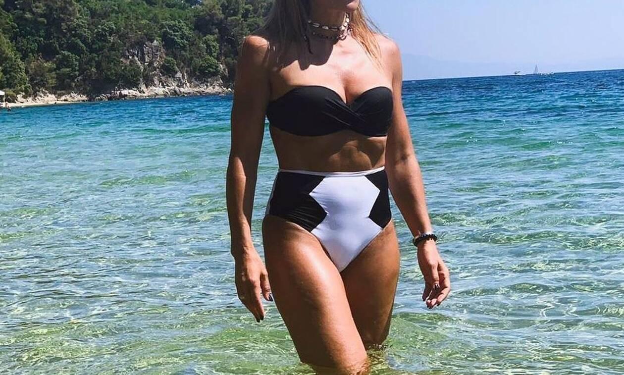 Ελληνίδα μάνα αναστατώνει με την απίστευτη κορμάρα της (photos)