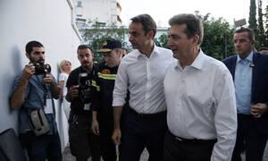 Σεισμός Αθήνα: Στο Ενιαίο Συντονιστικό Κέντρο ο Κυριάκος Μητσοτάκης