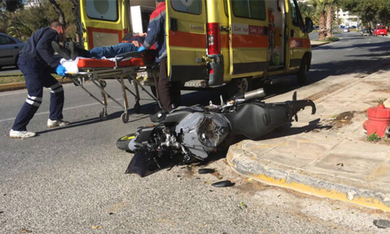 Τραγωδία στην άσφαλτο: Νεκρός άνδρας σε φρικτό τροχαίο με μοτοσικλέτα