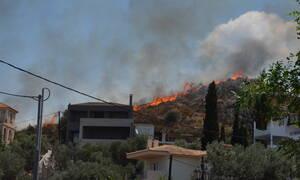 Φωτιά ΤΩΡΑ: Σε εξέλιξη οι πυρκαγιές σε Ναύπλιο και Θάσο