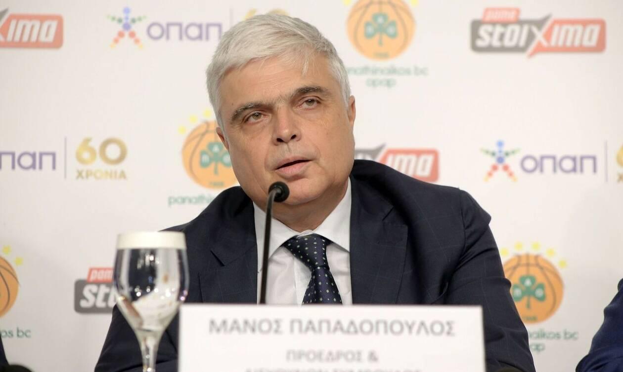 Μάνος Παπαδόπουλος: «Ο Ολυμπιακός δείχνει να μισεί τα πάντα στο μπάσκετ»