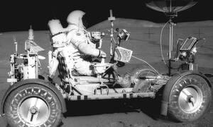 To Lunar Roving Vehicle είναι το αυτοκίνητο που πριν από 50 χρόνια κινήθηκε σε Σελήνη