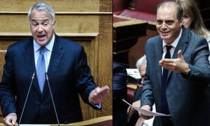 Χαμός στη Βουλή: Άγριος καβγάς Βορίδη - Βελόπουλου για τη συμφωνία των Πρεσπών