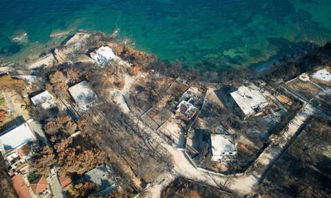 Συγκλονιστικό βίντεο: Μάτι και Κινέτα από ψηλά πριν και μετά τη «μαύρη» ημέρα για την Ελλάδα
