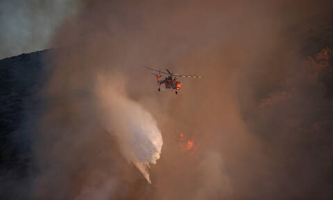 Φωτιά ΤΩΡΑ: Νέα πυρκαγιά στο Μαρκόπουλο