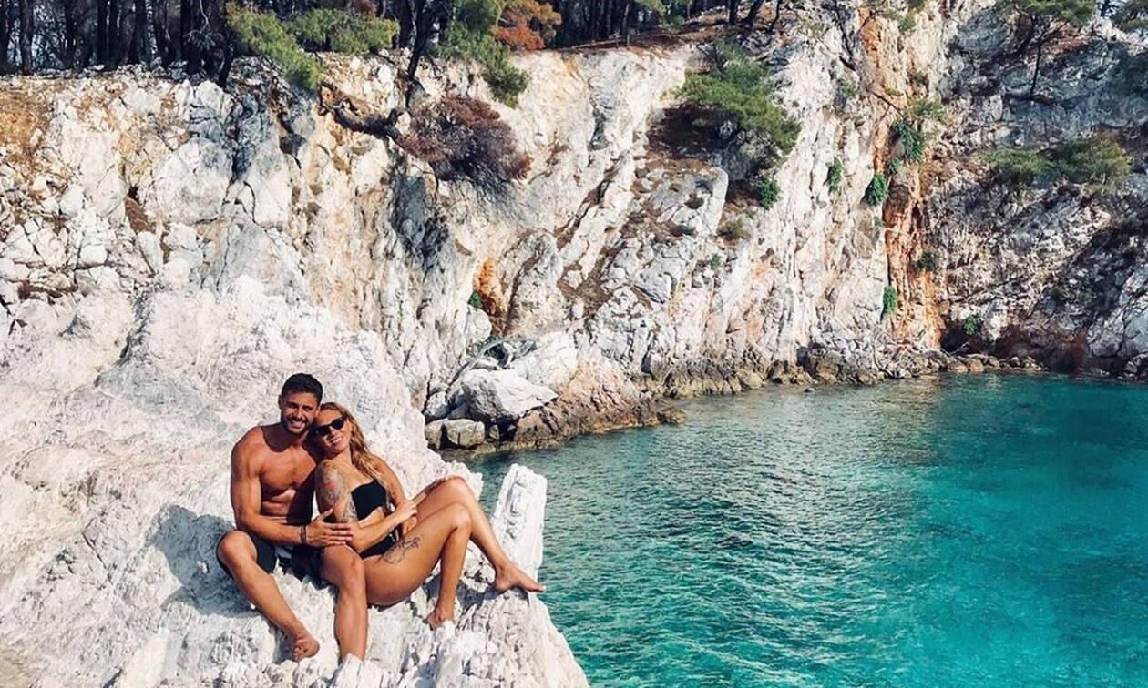 Βαλαβάνη-Βασάλος: Το πιο ερωτικό καλοκαίρι τους- Οι σέξι φωτογραφίες τους