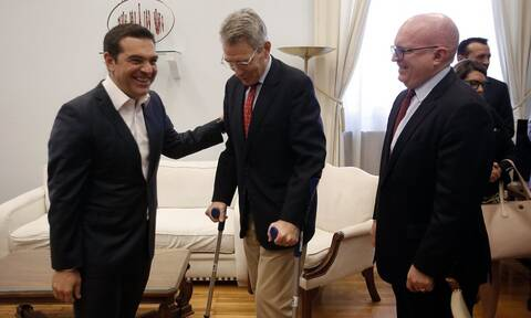 Greece must remain a pillar of stability in the region, Tsipras says in meeting with Reeker