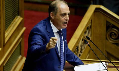 Προγραμματικές δηλώσεις - Βελόπουλος: Ψεύδεται η ΝΔ όταν μιλά για ακύρωση της Συμφωνίας των Πρεσπών