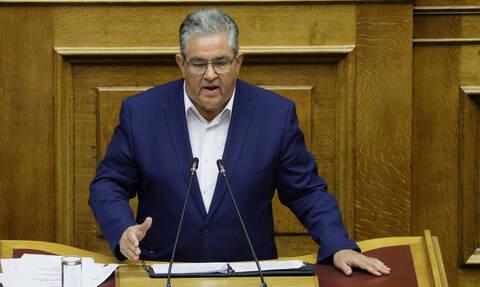 Προγραμματικές δηλώσεις - Κουτσούμπας: Η ΝΔ χτίζει πάνω στις πολιτικές του ΣΥΡΙΖΑ