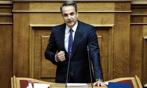 Προγραμματικές δηλώσεις - Μητσοτάκης: Δεν θα διαψεύσουμε τις προσδοκίες του λαού
