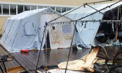 Число жертв пожара в палаточном лагере в Хабаровском крае увеличилось до трех