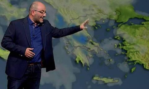 Καιρός: Προσοχή! Η προειδοποίηση του Σάκη Αρναούτογλου για τον καύσωνα στην κεντρική Ευρώπη (photo)