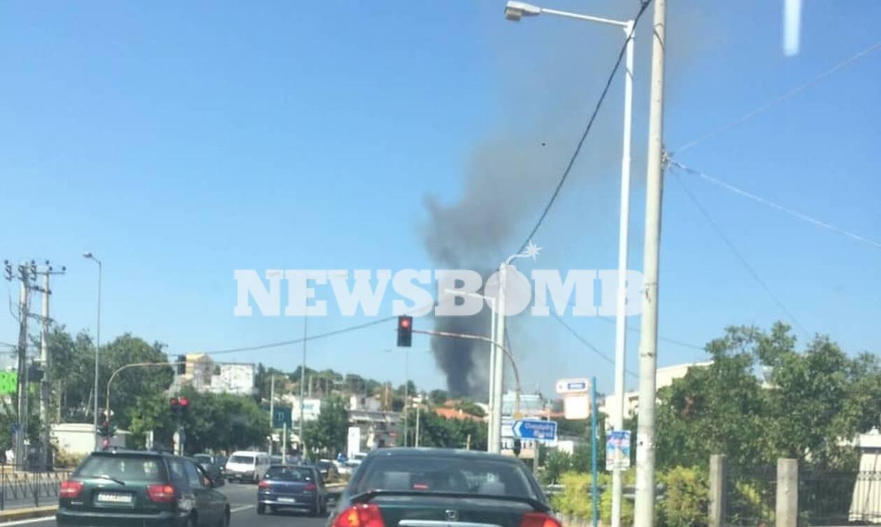 Φωτιά ΤΩΡΑ στη Ραφήνα: Δείτε LIVE εικόνα